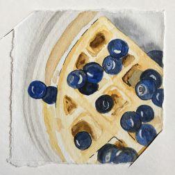 Dad's waffles