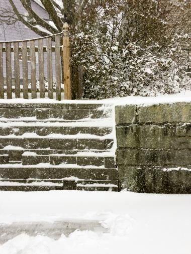 I shoveled up to my mean neighbor's property line