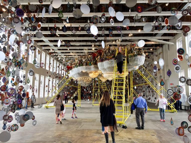 Nick Cave's exhibit.