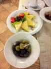 olives and yummy cheese
