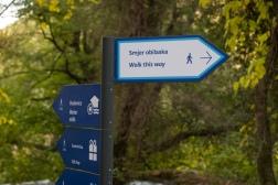 walking Skradinski buk hiking path