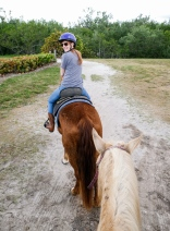 Libby is an old pro with lots of riding under her saddle