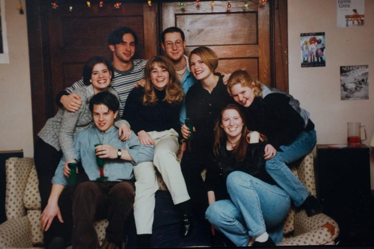 My housemates junior year in 1996-97