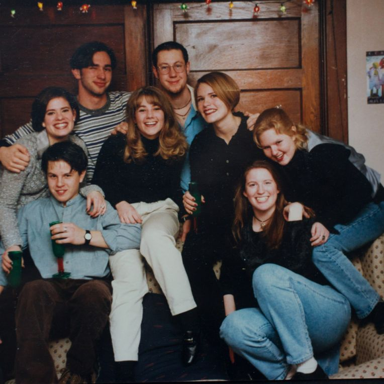 My housemates junior year in 1996-97