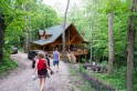 Our cabin this weekend. Cool digs!