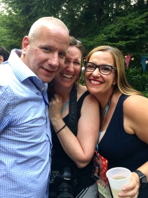 Selfies happened, of course! Me with Chris and Amanda