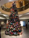 Christmas tree at the MFA
