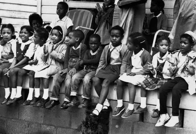 Children At March