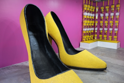 Shoes made of candy!