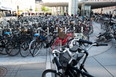 They like bikes in Denmark