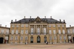 Amalienborg Palace, home of the Royal Danish Family