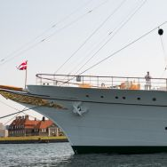 The boat of the Royal Family