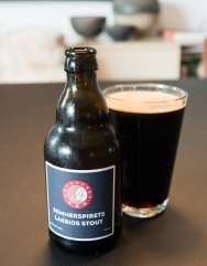 Licorice beer