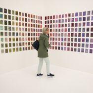 Reeli in the art exhibit